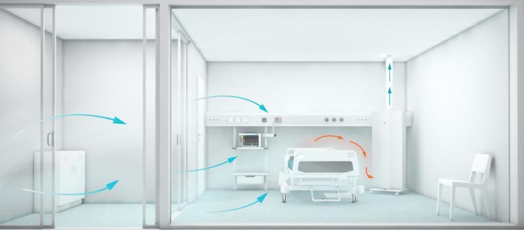 负压隔离病房设计图